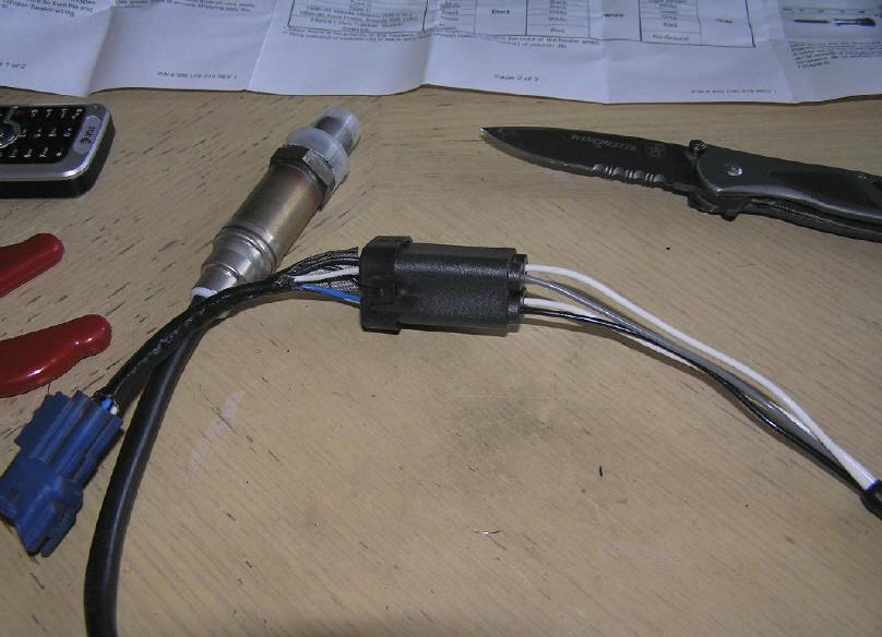 Suzuki XL-7 Oxygen O2 sensor replacement on